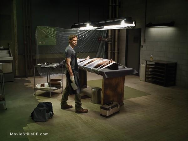 Dexter - Promo shot of Michael C. Hall