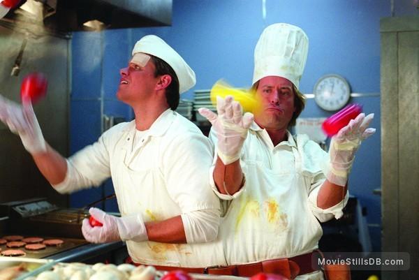 Stuck On You - Publicity still of Matt Damon & Greg Kinnear