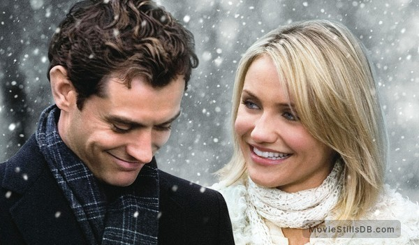 The Holiday - Publicity still of Cameron Diaz & Jude Law