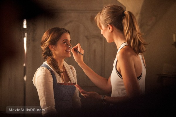 Beauty and the Beast - Behind the scenes photo of Emma Watson