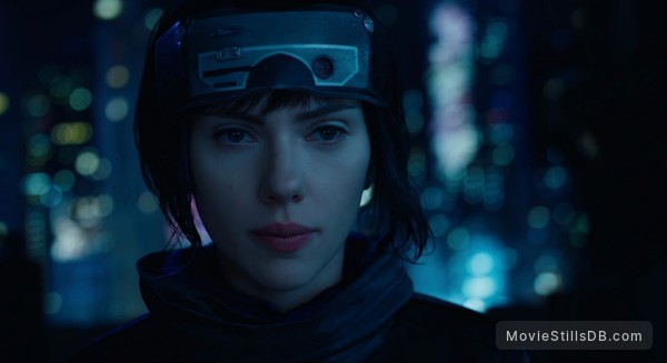 Ghost in the Shell - Publicity still of Scarlett Johansson