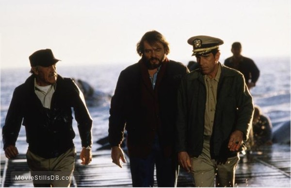 Raise the Titanic - Publicity still of J D Cannon, Richard Jordan & Jason Robards