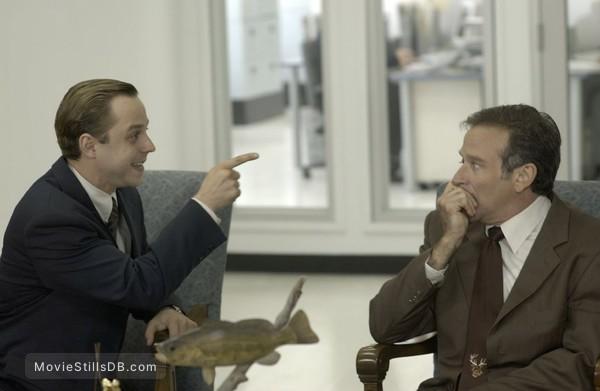 The Big White - Publicity still of Giovanni Ribisi & Robin Williams