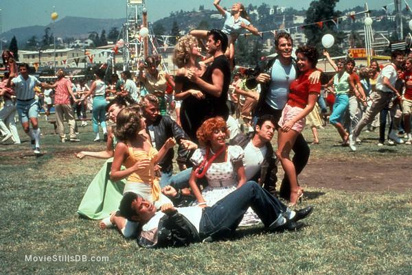 Grease - Publicity still of John Travolta, Stockard Channing, Olivia Newton-John, Barry Pearl, Michael Tucci, Kelly Ward, Jeff Conaway, Dinah Manoff & Didi Conn