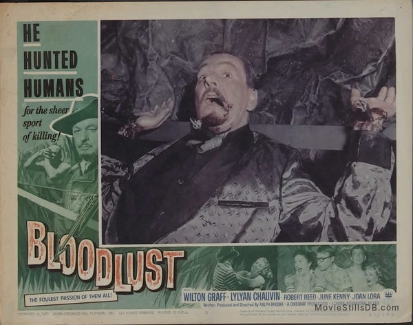 Bloodlust! - Lobby card