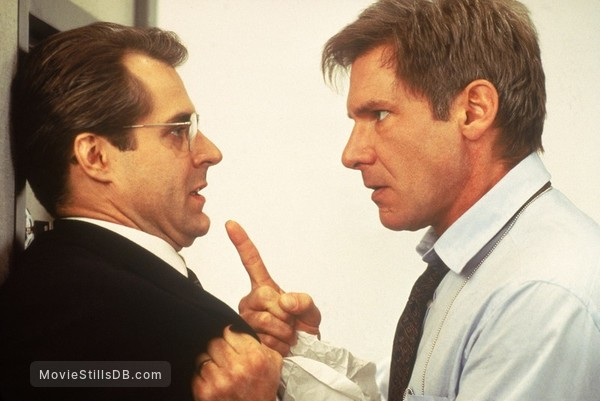 Clear And Present Danger - Publicity still of Harrison Ford & Henry Czerny