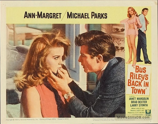 Bus Riley's Back in Town - Lobby card with Ann-Margret & Michael Parks