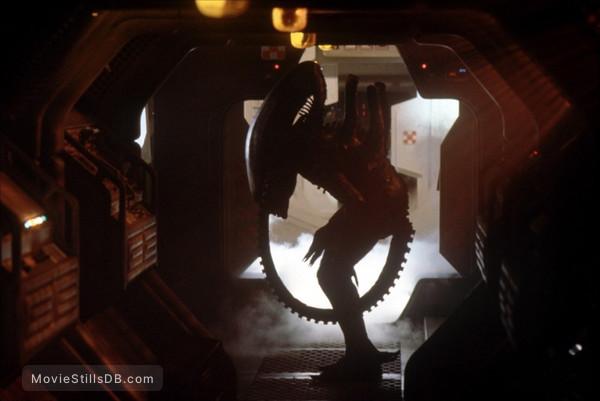 Alien - Behind the scenes photo