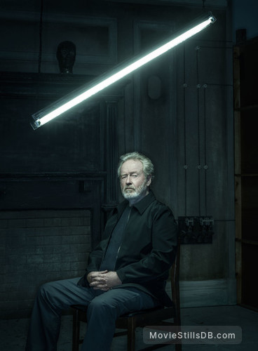 Blade Runner 2049 - Promo shot of Ridley Scott