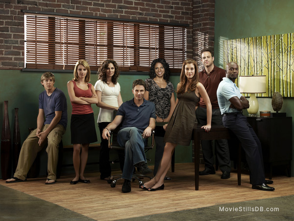 Private Practice - Promo shot of Kate Walsh, Tim Daly, Paul Adelstein, KaDee Strickland, Audra McDonald, Chris Lowell, Taye Diggs & Amy Brenneman