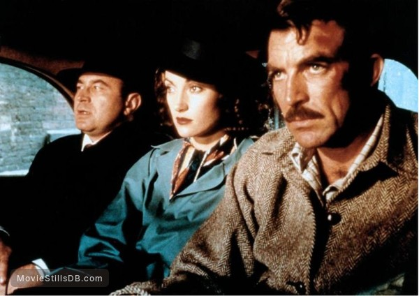 Lassiter - Publicity still of Bob Hoskins, Jane Seymour & Tom Selleck
