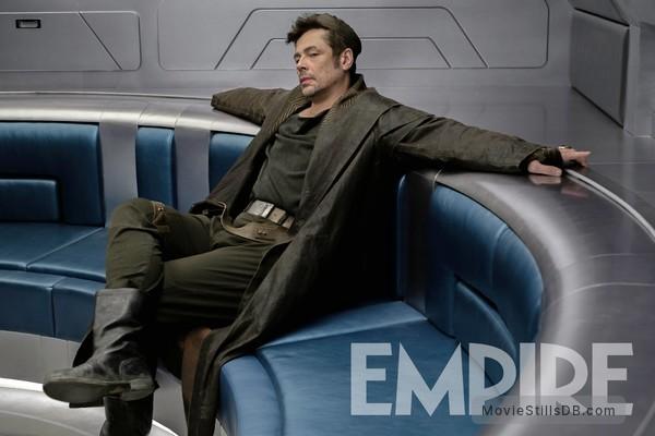 Star Wars: The Last Jedi - Publicity still of Benicio del Toro