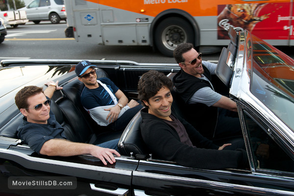 Entourage - Publicity still of Kevin Dillon, Adrian Grenier, Kevin Connolly & Jerry Ferrara