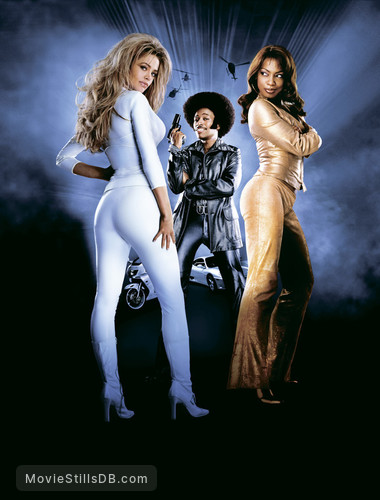 Undercover Brother - Promotional art with Eddie Griffin, Denise Richards & Aunjanue Ellis