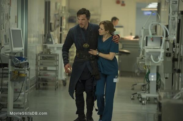 Doctor Strange - Publicity still of Benedict Cumberbatch & Rachel McAdams