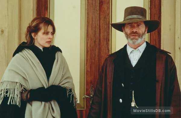 The Claim - Publicity still of Nastassja Kinski & Peter Mullan