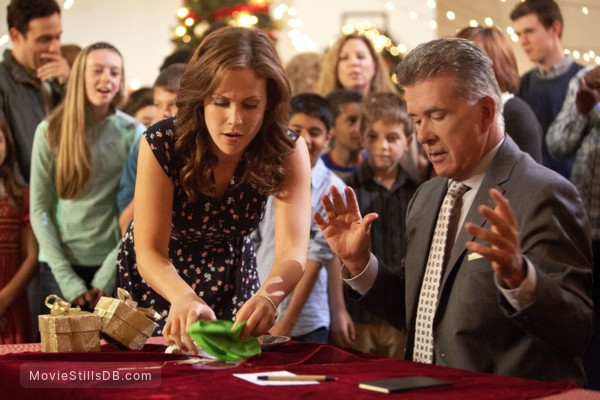 A Cookie Cutter Christmas - Publicity still of Alan Thicke & Erin Krakow
