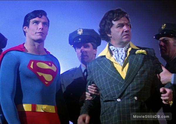Superman - Publicity still of Gene Hackman & Christopher Reeve