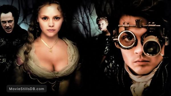 Sleepy Hollow - Promo shot of Johnny Depp, Christina Ricci, Miranda Richardson & Christopher Walken