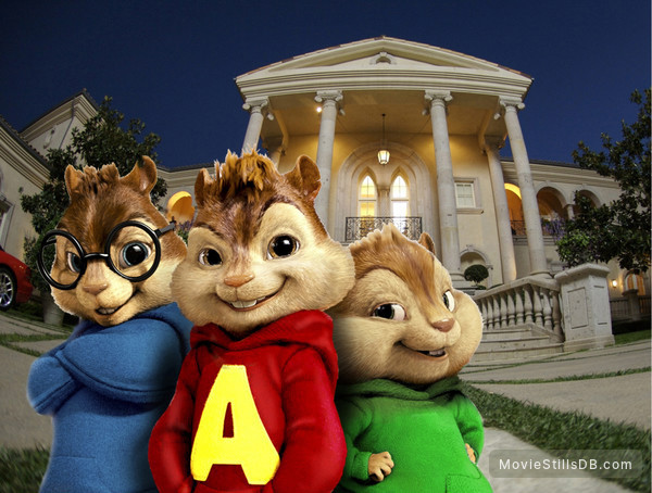 Alvin and the Chipmunks - Promo shot