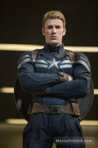 Captain America: The Winter Soldier - Promo shot of Chris Evans