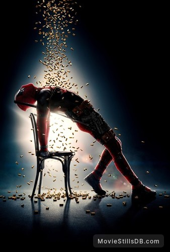 Deadpool 2 - Promotional art with Ryan Reynolds
