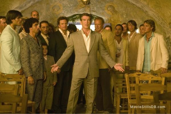 Mamma Mia! - Publicity still of Colin Firth, Pierce Brosnan & Stellan Skarsgård