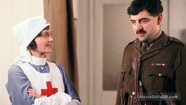 The Black Adder - Publicity still of Miranda Richardson & Rowan Atkinson