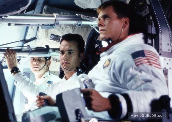 Apollo 13 - Publicity still of Tom Hanks, Kevin Bacon & Bill Paxton