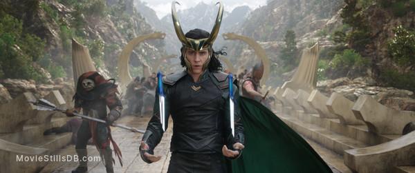 Thor: Ragnarok - Publicity still of Tom Hiddleston