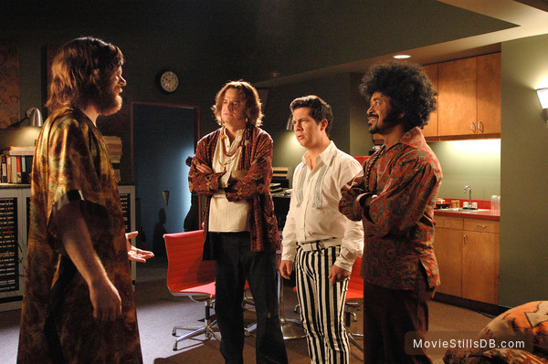 Walk Hard: The Dewey Cox Story - Publicity still of John C. Reilly, Tim Meadows, Chris Parnell & Matt Besser