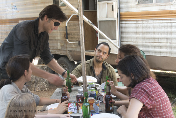 The Walking Dead - Publicity still of David Morrissey, Jose Pablo Cantillo, Alanna Masterson, Audrey Marie Anderson & Juliana Harkavy