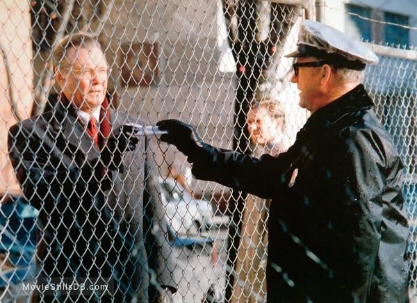 Enemy Of The State - Publicity still of Gene Hackman, Jon Voight & Loren Dean