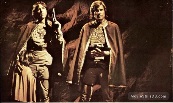 Battlestar Galactica - Publicity still of Richard Hatch & Dirk Benedict