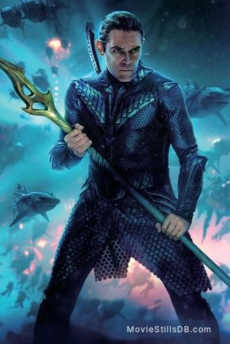 Aquaman - Promotional art with Willem Dafoe