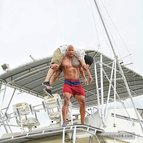 Baywatch - Publicity still of Dwayne Johnson