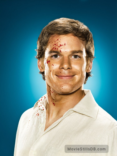 Dexter - Promo shot of Michael C. Hall