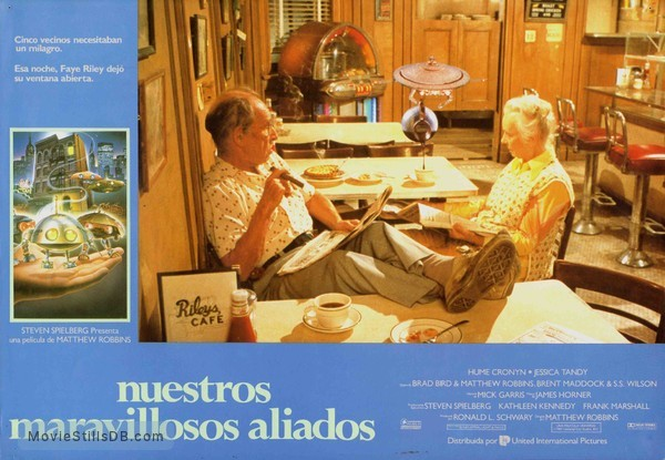 *batteries not included - Lobby card with Hume Cronyn & Jessica Tandy