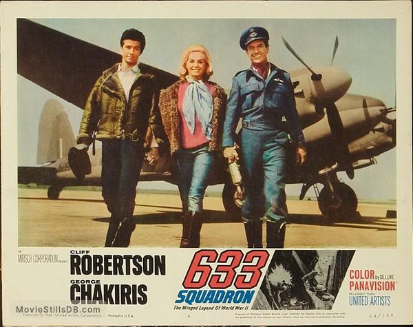 633 Squadron - Lobby card