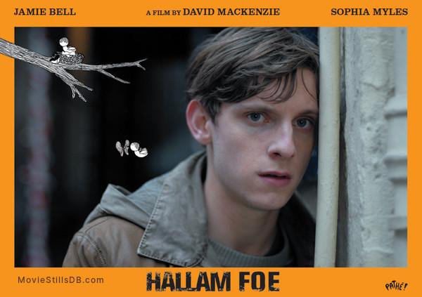 Hallam Foe - Lobby card with Jamie Bell