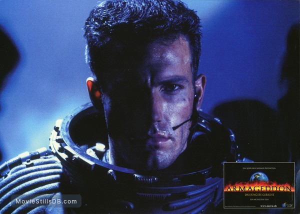Armageddon - Lobby card with Ben Affleck