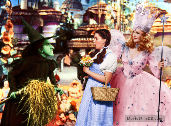 The Wizard of Oz - Publicity still of Judy Garland, Margaret Hamilton & Billie Burke