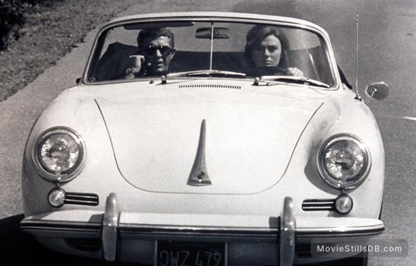 Bullitt - Publicity still of Steve McQueen & Jacqueline Bisset