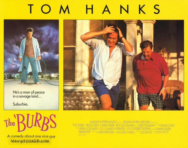 The 'Burbs - Lobby card with Tom Hanks & Rick Ducommun
