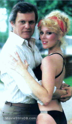 Dallas - Promo shot of Ken Kercheval & Audrey Landers