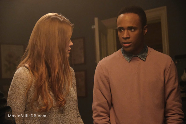 Teen Wolf - Publicity still of Holland Roden & Khylin Rhambo
