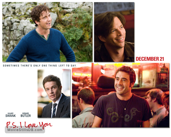 P.S. I Love You - Wallpaper with Gerard Butler, Jeffrey Dean Morgan, James Marsters & Harry Connick Jr.