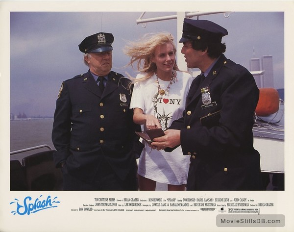 Splash - Lobby card with Daryl Hannah