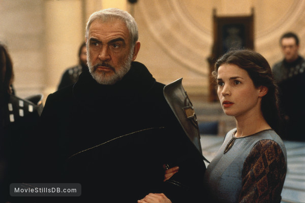 First Knight - Publicity still of Sean Connery & Julia Ormond