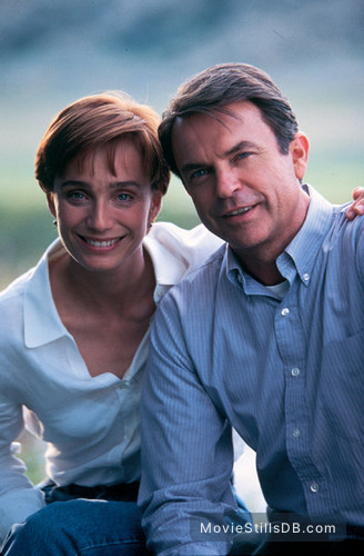 The Horse Whisperer - Promo shot of Kristin Scott Thomas & Sam Neill